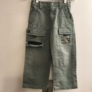 GAP Boy Green Cargo Pant size 4